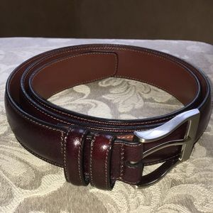 Perry Ellis Portfolio Full Grain Cowhide Belt